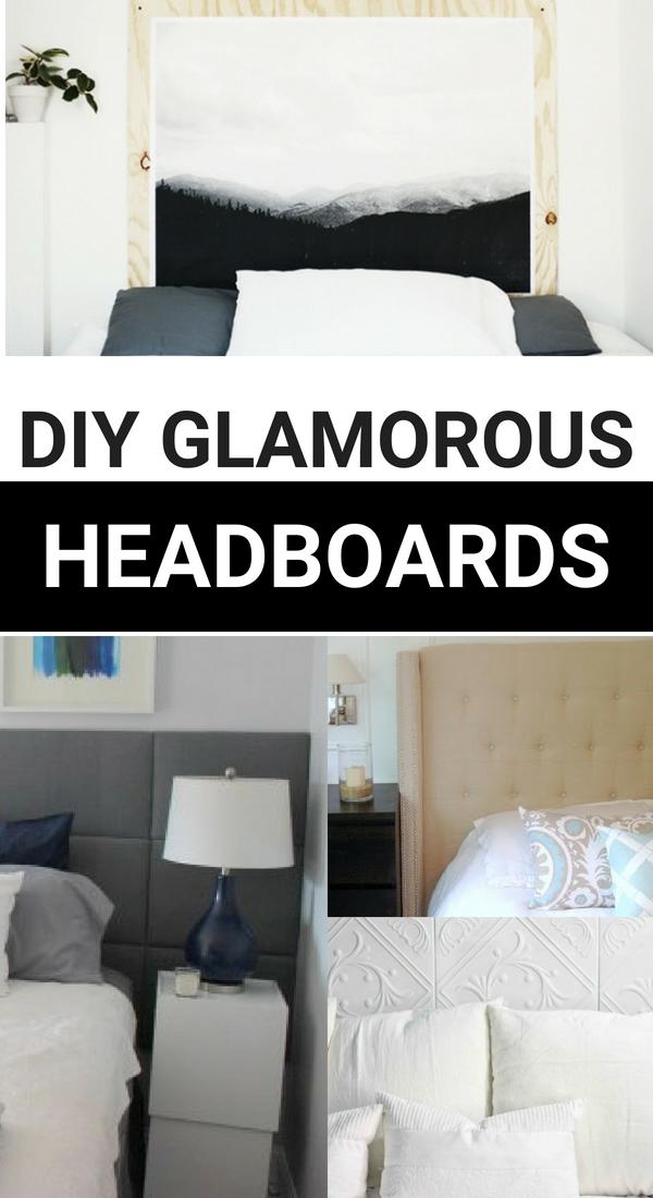 Diy Cheap But Glamorous Headboard Ideas